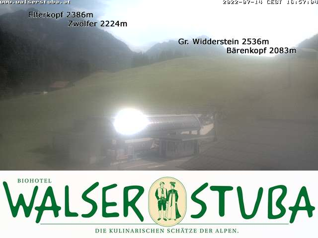 Webcam-Bild: Webcam - Walserstuba
