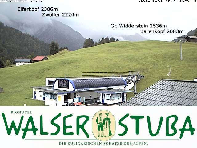 Webcam Hotel Walserstuba Kleinwalsertal